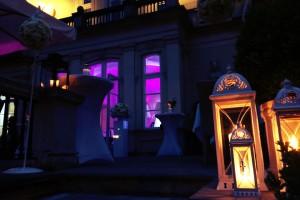 Dekoracje światłem, Pałac Sobańskich – Amber Room