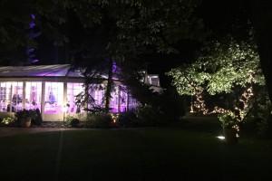 Dekoracje światłem, Villa Julianna, Piaseczno